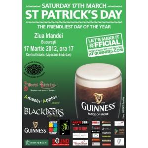 St  Patrick's Day. 17 MARTIE - ST. PATRICK'S DAY sau ZIUA IRLANDEI la Bucuresti