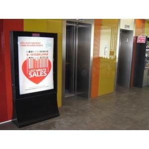 publicitate indoor. Publicitate indoor - Campanie Baneasa Shopping City