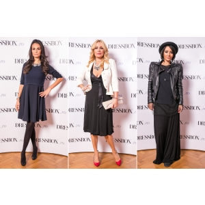 giulia. Giulia Anghelescu, Anca Serea, Dana Savuica si multe alte vedete au admirat rochii de designer la inaugurarea DRESSBOX.
