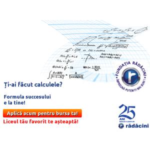 Fundatia Radacini Grup - burse pentru elevi