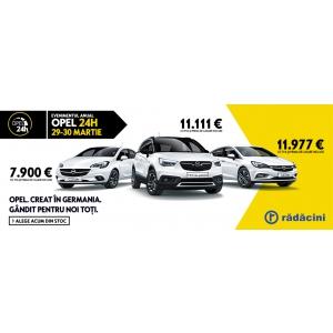 Evenimentul anual Opel 24h la Rădăcini Motors