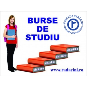 Burse de studiu - Fundatia Radacini Grup