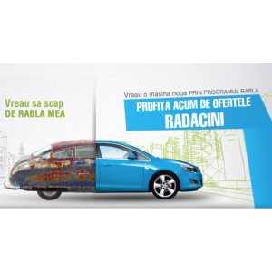 gestionare parc auto. Programul Rabla 2015 la Radacini