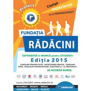 Radacini pentru studenti 2015