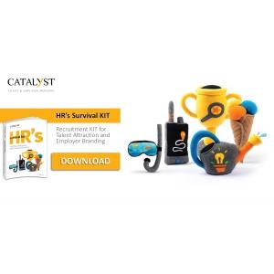 Catalyst. Catalyst Solutions lansează KIT-ul de supraviețuire pentru profesioniștii HR