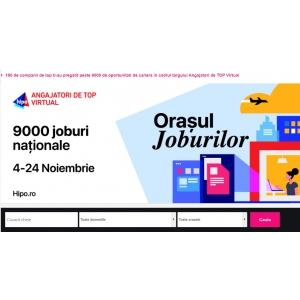În ce domenii își pot găsi cu ușurință un job candidații din orașe precum: București, Iași, Cluj-Napoca și Timișoara?