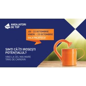 vineri. Joi si vineri are loc cel mai mare targ de cariera – Angajatori de TOP Bucuresti!