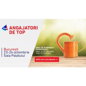 interviuri. Noutate Angajatori de TOP Bucureşti:Interviuri in cele doua zile ale evenimentului cu o parte dintre reprezentanţii celor 100 de companii participante