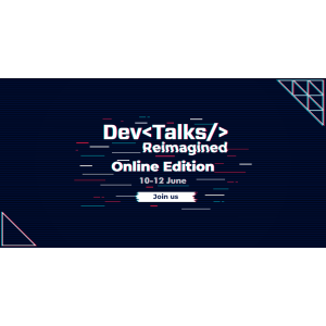 Pe 10-12 iunie se lansează cel mai complex eveniment IT virtual, DevTalks Reimagined