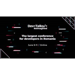 Pe 9 – 11 iunie, va fi live cel mai amplu eveniment IT din România – DevTalks Reimagined 2021