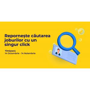 Persoanele interesate de un loc de muncă își pot depune CV-ul până pe 14 noiembrie la Angajatori de TOP Timișoara ONLINE