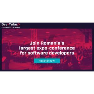 Speakeri de renume, companii de top din industria IT, startup-uri tech si gadget-uri la cea de-a patra editie DevTalks Cluj-Napoca