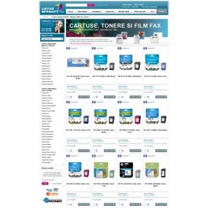 Cartuse-Imprimante.Net - Magazin online de cartuse lansat de Euro-Tel