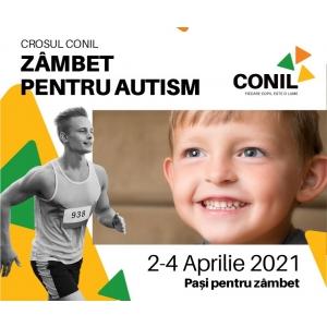 Crosul CONIL, zâmbet pentru autism te invită la cel mai atractiv și activ concurs!