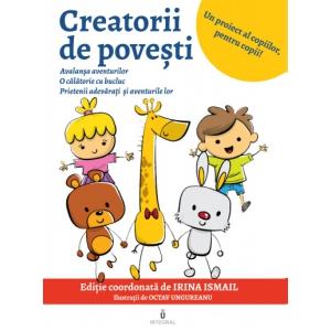 Lansare de carte CREATORII de POVEȘTI, o carte scrisă online de 21 de elevi în timpul stării de urgență. Eveniment caritabil!
