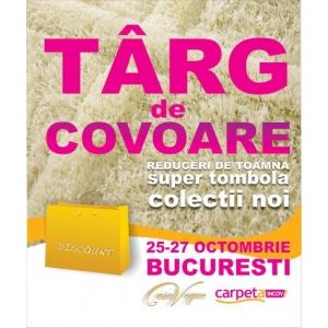 Târgul de Covoare, Ediţia a XVII-a, Bucureşti, 25-27 Octombrie 2013
