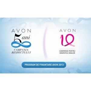 Avon România. Program de finanțare Avon 2013