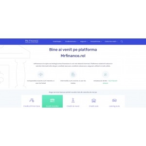 mrfinance ro. Noul site MrFinance