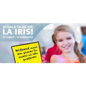 iris t. Şcoala ta de vis, la Iris!