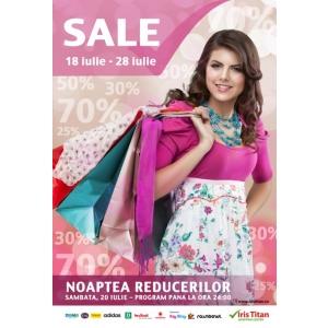 shopping center. SALE - Iris Titan: 18-28 iulie 2013
