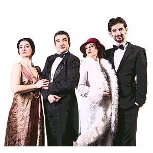 Cadouri surpriza si ropote de aplauze la Teatrul Elisabeta- comedia O Casnicie Linistita