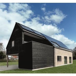 energie solara. Casa Energy+, Hattig Danemarca
