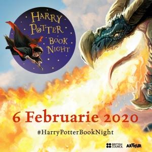 Editura Arthur și British Council Romania organizează Harry Potter Book Night