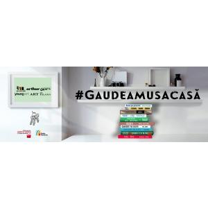 #GaudeamusAcasă | Salon de carte la tine acasă: 16 - 22 noiembrie 2020