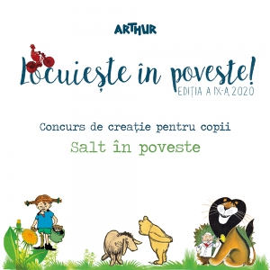 """""""Locuiește în poveste!"""" – un nou concurs Arthur pentru copii Ediția a IX-a, 2020"""
