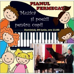 Pianul fermecat – spectacol pentru copii cu muzica, poezii si cadouri