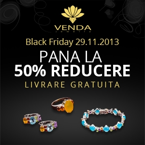 venda. Venda Jewelry te rasfata de Black Friday
