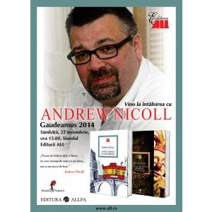 andrew nicoll. Andrew Nicoll vine in Romania la invitatia Editurilor ALL