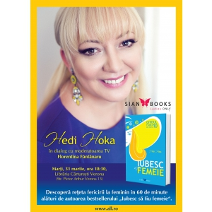 Hedi Hoka in dialog cu Florentina Fantanaru la libraria Carturesti Verona