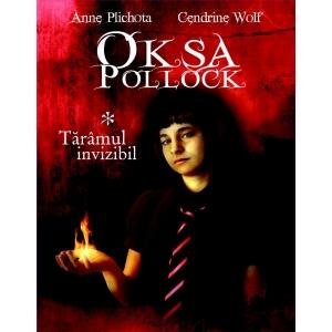 """Edefia. Oksa Pollock te asteapta la Bookfest! ,,Ai grija, Harry Potter! Tocmai a inceput POLLOCKMANIA!""""  Le Point"""