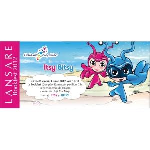Itsy Bitsy. Pe 1 iunie haideti in lumea Itsy Bitsy la Bookfest