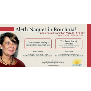 metoda espere. Aleth Naquet în România Formator Metoda ESPERE®, creată de Jacques Salomé