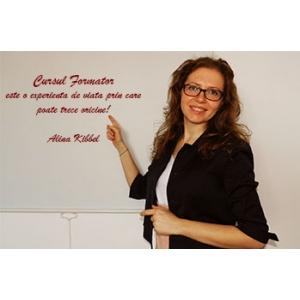 cursuri de formator. Alina Kibbel - Lector Euro Best Team