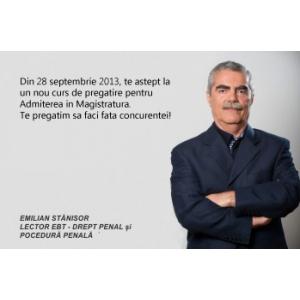 pregatire intensiva. Curs de pregatire intensiva pentru Admiterea la INM si Magistratura! Toate cele 3 probe de concurs - din 28 septembrie 2013