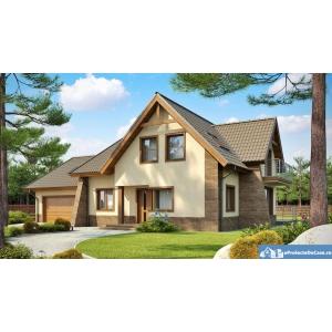 Proiecte casa cu mansarda la preturi accesibile.