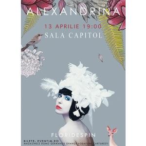 flori de spin. Alexandrina lanseaza Flori de Spin la Timisoara
