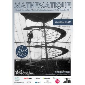 mathematique. Dark-electronic si experimental-pop cu Mathematique (CA) si Fierbinteanu (RO), live in Gradina OAR!