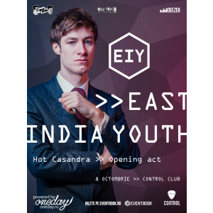 East India Youth, in concert la Bucuresti