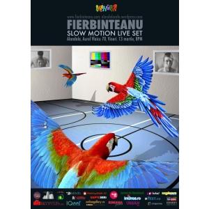 alandala cafe. Fierbinteanu - Slow Motion Live Set, pe 13 martie la Alandala Cafe
