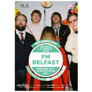 casetofoane. FM Belfast si Casetofoane canta sambata la Control Club