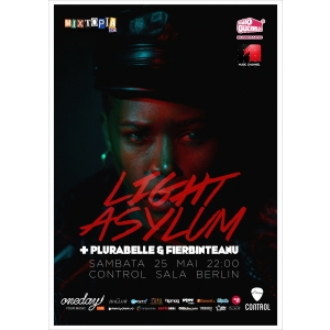 light asylum. Light Asylum - dark synthpop din New York, live la Bucuresti!