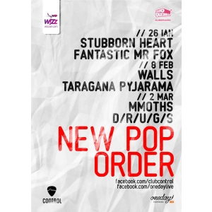 new order. New Pop Order 2013