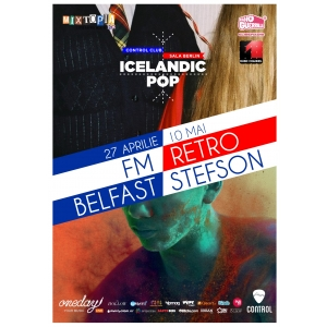 retro stefson. Pop islandez, live la Control Club: FM Belfast si Retro Stefson