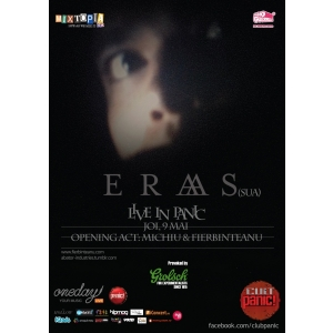 eraas. Post-punk new-yorkez cu ERAAS, in premiera la Bucuresti