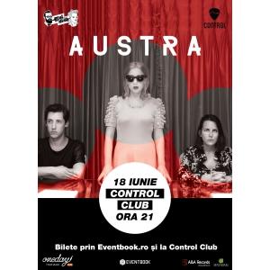 Saptamana viitoare: concert Austra la Bucuresti!