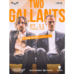 two gallants. Two Gallants, concert in premiera la Bucuresti